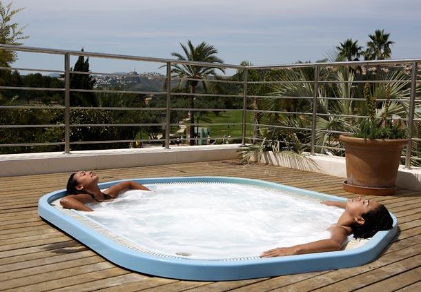 Rabat chauffage for Construction piscine rabat